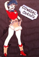 Vintage ATC wa cowgirl I-I